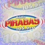 Logo da emissora Rádio Pirabas 105.9 FM