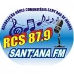 Logo da emissora Radio Sant´Ana de Óbidos 87.9 FM