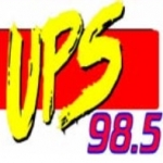 Logo da emissora WUPS 98.5 FM UPS