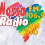Logo da emissora Rádio Nossa Rádio 700 AM 106.9 FM