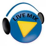 Logo da emissora Rádio Live Mix FM