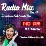 Logo da emissora Rádio Mix Tupã