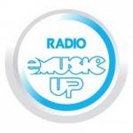 Logo da emissora Rádio E-Music Up