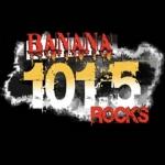 Logo da emissora WWBN 101.5 FM Banana