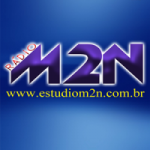 Logo da emissora Rádio M2N