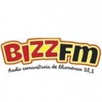 Logo da emissora Rádio Bizz 98.3 FM