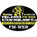 Logo da emissora Rádio Conquista FM Web