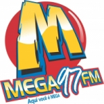 Logo da emissora Rádio Mega 97 FM