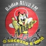 Logo da emissora Rádio Ativa 104.9 FM