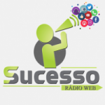 Logo da emissora Sucesso Rádio Web