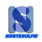 Logo da emissora Norte Sul FM