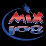Logo da emissora Radio KBMX 107.7 FM