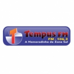 Logo da emissora Rádio Tempus 106.3 FM