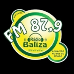 Logo da emissora Rádio Baliza 87.9 FM