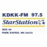 Logo da emissora Radio KDKK 97.5 FM