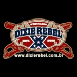 Logo da emissora Dixie Rebel Rádio