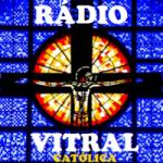 Logo da emissora Rádio Vitral Católica