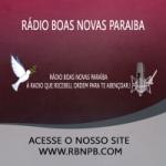 Logo da emissora Rádio Boas Novas Paraíba