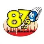 Logo da emissora Rádio Maraial 87.9 FM
