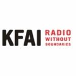 Logo da emissora Radio KFAI 90.3 FM
