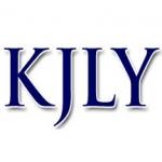 Logo da emissora Radio KJLY 104.5 FM