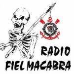 Logo da emissora Rádio Fiel Macabra