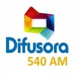 Logo da emissora Rádio Difusora 540 AM