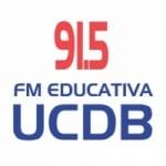 Logo da emissora Rádio UCDB 91.5 FM