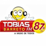 Logo da emissora Rádio Tobias Barreto 87.9 FM