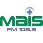 Logo da emissora Rádio Mais 105.5 FM