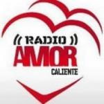 Logo da emissora Rádio Amor Caliente