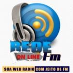 Logo da emissora Rede FM Online