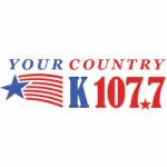Logo da emissora Radio WKHI Your Country K 107.7 FM