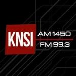 Logo da emissora KNSI 1450 AM