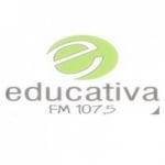 Logo da emissora Rádio Educativa 107.5 FM