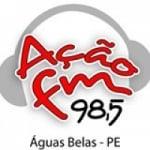 Logo da emissora Rádio Ação FM 98.5 FM