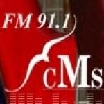 Logo da emissora CMS Radio 91.1 FM