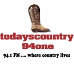 Logo da emissora Radio Todayscountry94one 94.1 FM