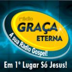 Logo da emissora Rádio Graça Eterna