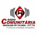 Logo da emissora Rádio Imaculada 104.9 FM