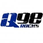 Logo da emissora KQWB 98.7 FM