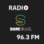 Logo da emissora Som Brasil FM