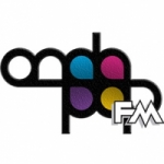 Logo da emissora Onda Pop Fm