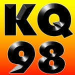 Logo da emissora KQYB 98.3 FM