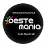 Logo da emissora Rádio Oeste Mania