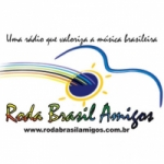 Logo da emissora Roda Brasil Amigos