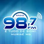 Logo da emissora Rádio 98 FM