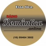 Logo da emissora Romântica Online