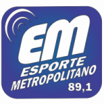 Logo da emissora Esporte Metropolitano 89.1