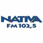Logo da emissora Rádio Nativa 102.5 FM